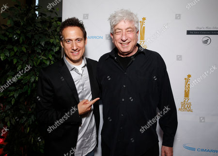 Elon Gold and Avi Lerner attend the 27th Israel Film Festival Opening Night Gala, on Thursday, April, 18, 2013 in Beverly Hills, California
