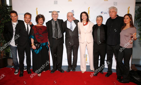 Elon Gold, Stephen Dorff, Lainie Kazan, Martin Landau, Stacy Keach, Sherry Lansing and Meir Fenigstein, Avi Lerner and Lati Grobman attend the 27th Israel Film Festival Opening Night Gala, on Thursday, April, 18, 2013 in Beverly Hills, California