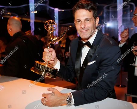 Lee Metzger attends at the Governors Ball winners circle for the 67th Primetime Emmy Awards at the Los Angeles Convention Center, in Los Angeles