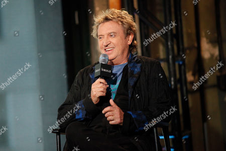 """Musician Andy Summers participates in AOL's BUILD Speaker Series to discuss the new documentary """"Can't Stand Losing You"""" at AOL Studios, in New York"""