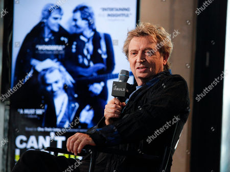 """Musician Andy Summers participates in AOL's BUILD Speaker Series to discuss the new documentary """"Canâ?™t Stand Losing You"""" at AOL Studios, in New York"""