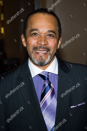 Stock Picture of Clifton Oliver attends Aretha Franklin's 72nd birthday celebration on in New York