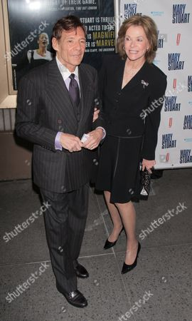 Ron Leibman and Jessica Walter