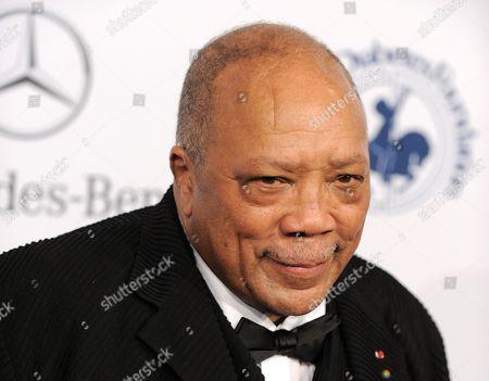 Editorial photo of People Quincy Jones, Beverly Hills, USA