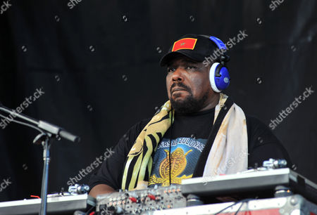 Stock Image of Afrika Bambaataa Performs at the 2008 Rock the Bells Music Festival at the Jones Beach Theater in Wantagh New York On August 3 2008