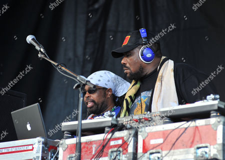 Afrika Bambaataa Performs at the 2008 Rock the Bells Music Festival at the Jones Beach Theater in Wantagh New York On August 3 2008
