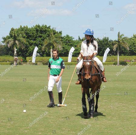 Editorial photo of The Kardashians Take a Polo Lesson at the International Polo Club Palm Beach - 14 Mar 2009