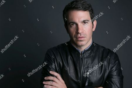 "Actor-director Chris Messina poses for a portrait in promotion of his directorial debut at Tribeca Film Festival, ""Alex of Venice,"" on in New York"