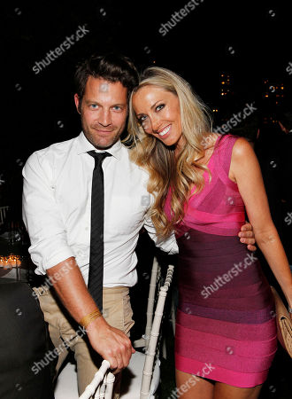 Nate Berkus and Melanie Lazenby are seen at a dinner hosted by Editor-in-Chief Dan Peres celebrating DETAILS September Issue, on in New York