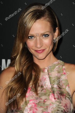 Actress AJ Cook arrives at Elyse Walker's The Pink Party 2013 at Hangar 8 at the Santa Monica Airport on in Santa Monica, Calif