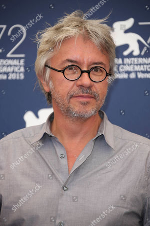 Director Christian Vincent poses for photographers at the photo call for the film L'Hermine during the 72nd edition of the Venice Film Festival in Venice, Italy