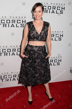 """Editorial picture of NY Premiere of """"Maze Runner"""", New York, USA"""