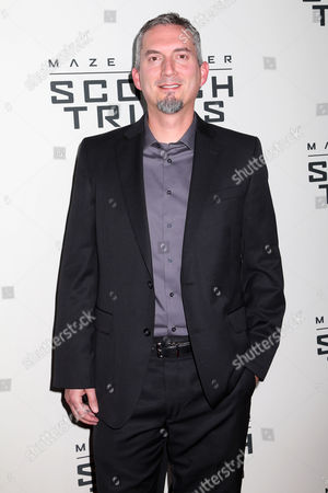 """Stock Image of James Dashner attends the premiere of """"Maze Runner: The Scorch Trials"""" at the Regal Cinemas E-Walk, in New York"""