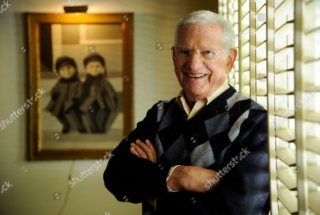 Actor, artist and singer Robert Clary poses for a portrait in his home studio in Beverly Hills, Calif. Clary, who starred in the sitcom 'Hogan's Heroes,'? turns 88 on Saturday, March 1, 2014
