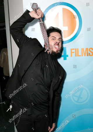 Stock Photo of Destin Pfaff attends the Phase 4 Films Annual Cocktail Party on in Los Angeles