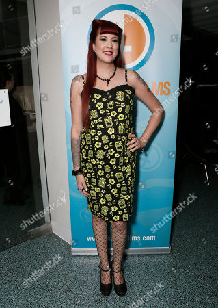 Stock Image of Rachel Federoff attends the Phase 4 Films Annual Cocktail Party on in Los Angeles