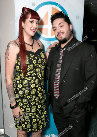 Rachel Federoff and Destin Pfaff attend the Phase 4 Films Annual Cocktail Party on in Los Angeles