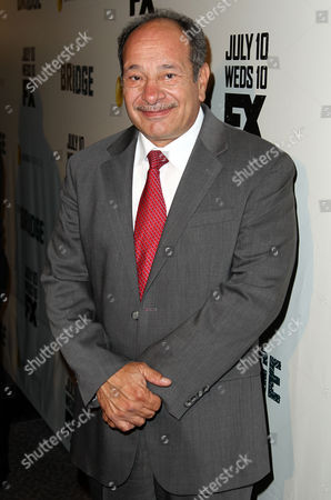 "Juan Carlos Cantu arrives at the premiere screening of ""The Bridge"" at the DGA Theatre on in Los Angeles"