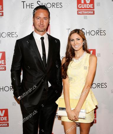 Executive Producer Quinton Van Der Burgh and Destiny Moniz attend The Shores Premiere Party at Dim Mak studios, in Los Angeles