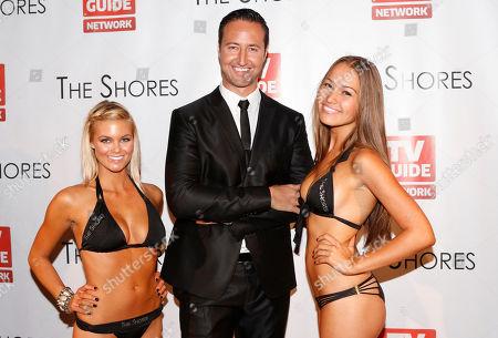 Executive producer Quinton Van Der Burgh attends The Shores premiere party at Dim Mak studios, in Los Angeles