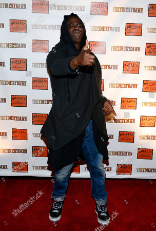 """Director Jeymes Samuel poses at the Bulleit Bourbon presents """"They Die By Dawn"""" film screening, in New York"""