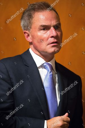Leadership candidate Peter Whittle at the conference