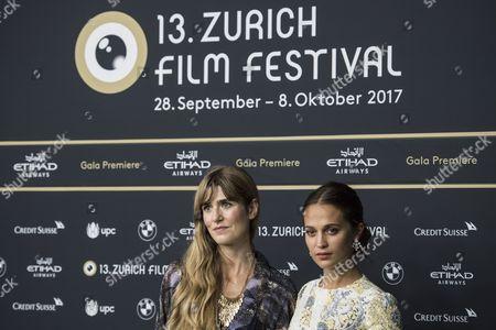 Alicia Vikander and Lisa Langseth
