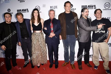 """Editorial image of LA Premiere of """"Brawl in Cell Block 99"""", Los Angeles, USA - 29 Sep 2017"""