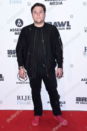 """Jack Heller attends the LA premiere of """"Brawl in Cell Block 99"""" at the Egyptian Theatre, in Los Angeles"""
