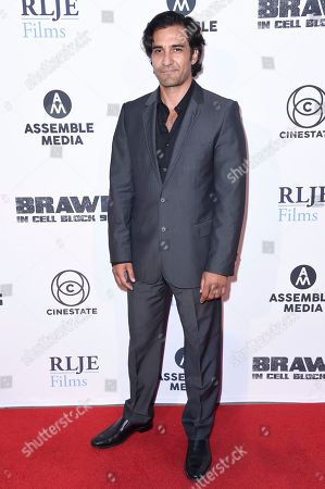 """Editorial picture of LA Premiere of """"Brawl in Cell Block 99"""", Los Angeles, USA - 29 Sep 2017"""