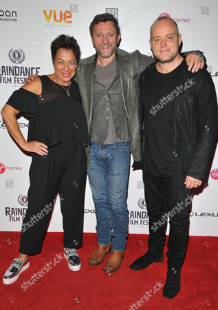 Denise Welch, Gary Love and Lincoln Townley