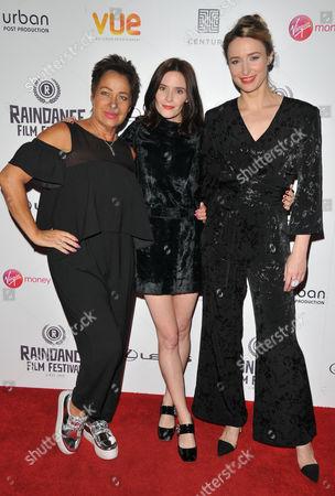 Denise Welch, Rebecca Calder and Deirdre Mullins