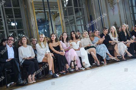 Oskar Roehler, Liv Lisa Fries, Ida Immendorff, Oda Jaune, Emilia Schule, Lena Meyer-Landrut, Caroline Daur and Nina Suess