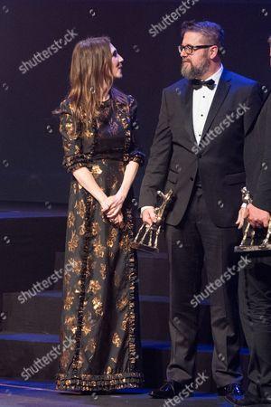 Martin Koolhoven and Carice van Houten