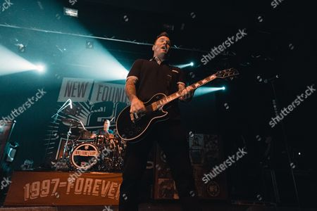 Editorial image of New Found Glory in concert at The Academy, Manchester, UK - 29 Sep 2017