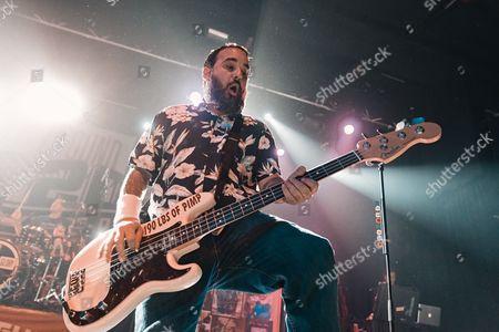 Stock Image of New Found Glory - Ian Grushka