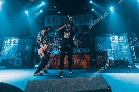 Editorial picture of New Found Glory in concert at The Academy, Manchester, UK - 29 Sep 2017