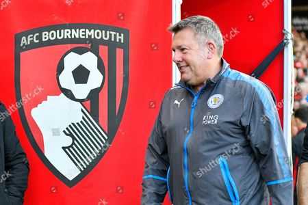 Leicester City manager Craig Shakespeare during the Premier League match between Bournemouth and Leicester City at the Vitality Stadium, Bournemouth