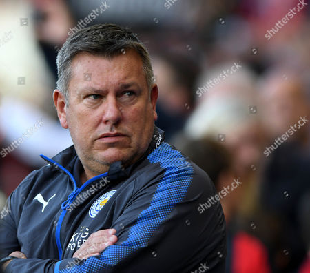 Craig Shakespeare, Leicester manager , during the Premier League match between Bournemouth and Leicester City, at The Vitality Stadium (Dean Court) on 30th September 2017.