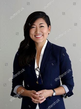 Stock Image of Jinyoung Lee Englund, Republican candidate for 45th district Senate seat in Washington, poses for a portrait at her campaign headquarters in Woodinville, Wash. The Washington state Senate is the only Republican-led legislative chamber on the West Coast, and a special election in a district east of Seattle has drawn millions of dollars and national attention to two political newcomers vying for the seat this November. Democrat Manka Dhingra and Republican Englund are seeking to serve the last year of a four-year term in the 45th legislative seat left vacant by the death of Republican Senator Andy Hill