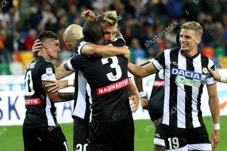 Editorial image of Udinese-Sampdoria, Udine, Italy - 30 Sep 2017