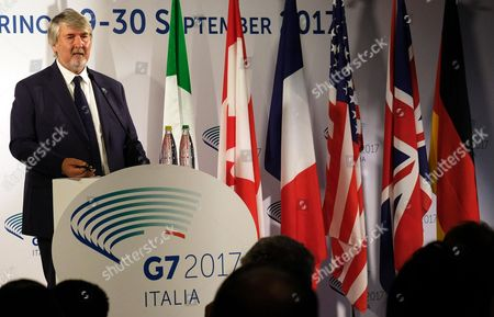 Editorial photo of Labour G7 meeting, Turin, Italy - 30 Sep 2017