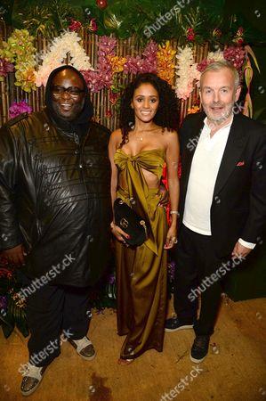 Ade, Emma Mainoo and Piers Adams