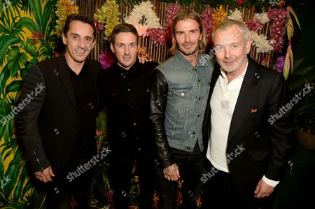 Editorial photo of Mahiki Manchester launch party, UK - 30 Sep 2017