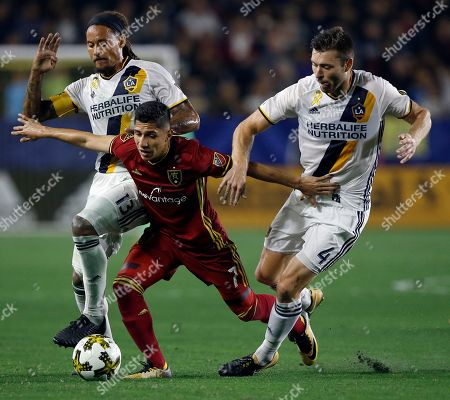 Editorial photo of Real Salt Lake LA Galaxy Soccer, Carson, USA - 30 Sep 2017