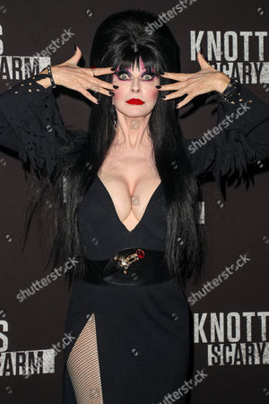 Editorial image of Knott's Scary Farm, Celebrity Night, California, USA - 29 Sep 2017