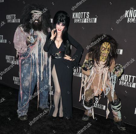 Editorial photo of Knott's Scary Farm, Celebrity Night, California, USA - 29 Sep 2017