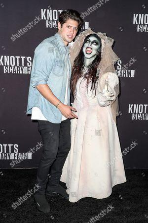 Editorial image of Knott's Scary Farm, Celebrity Night, California, USA - 29 Sep 2017