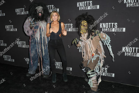Editorial picture of Knott's Scary Farm, Celebrity Night, California, USA - 29 Sep 2017