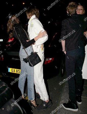 Kaia Gerber and Jordan Barrett